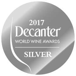 Decanter World Wine Awards 2017 Médaille d'Argent