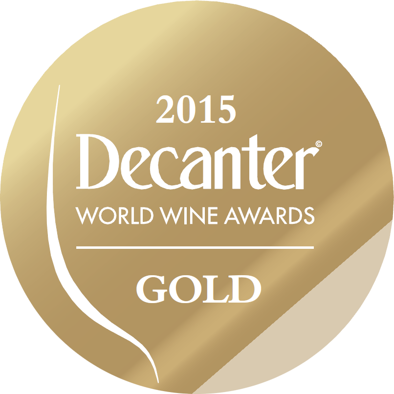 médaille d'Or Decanter World Wine Awards 2015